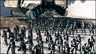 getlinkyoutube.com-VADER'S FIST - Star Wars: Galaxy at War Mod Gameplay
