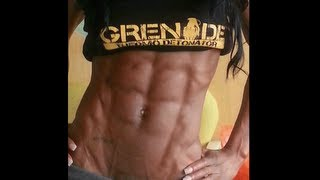 getlinkyoutube.com-Female Fitness Motivation - Nyisha Jordan WBFF Pro