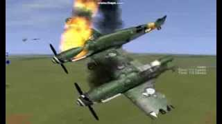 getlinkyoutube.com-IL2 Sturmovik Stunts & Crashes (with music)