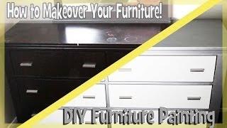getlinkyoutube.com-DIY: Paint Bedroom Furniture Easy!