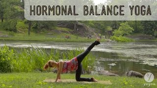 getlinkyoutube.com-Hormonal Balance Yoga Routine: Navigation Reset (open level)