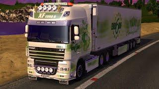 getlinkyoutube.com-Euro Truck Simulator 2 - Daf Xf 105 Combi Mod