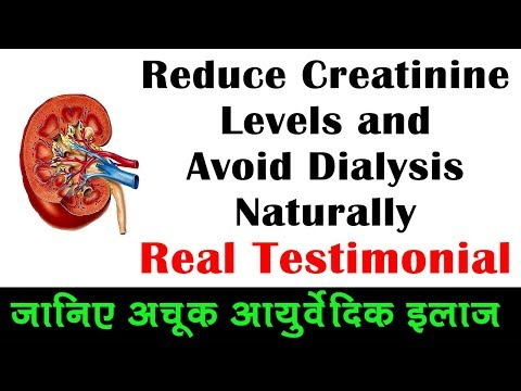 Reduce Creatinine Levels and Avoid Dialysis Naturally - Real Testimonial