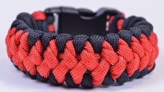 "getlinkyoutube.com-The ""Crooked Spine"" Paracord Survival Bracelet Tutorial - BoredParacord"