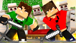 getlinkyoutube.com-Minecraft: PROTEJA A CAMA !! - (BedWars)