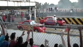 rayo MCQueen en accion autodromo la chinita maracaibo