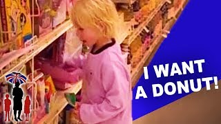 getlinkyoutube.com-How NOT to let your Children Behave in the Supermarket: Supernanny US
