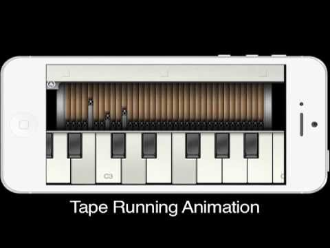 Super Manetron - Mellotron Apps for iPhone/iPod touch -In The Court Of The Crimson King