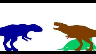 getlinkyoutube.com-100th video special-giganotosaurus vs t-rex vs carcharodontosaurus vs tyrannotitan
