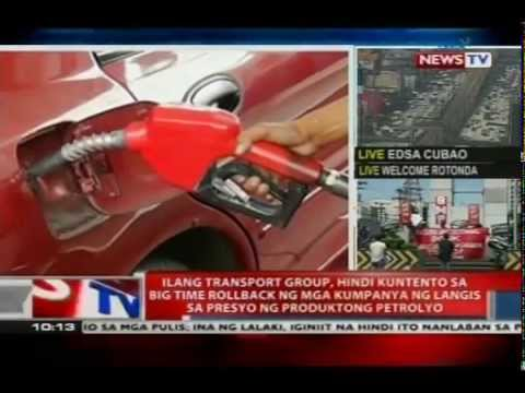 News TV Live: Ilang transport group, hindi kuntento sa rollback ng mga