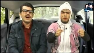 getlinkyoutube.com-فتيحة تاع الحمري  تتعلم السياقة هههههههههه 2016 mohamed khassani 3and Auto Ecole