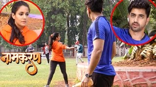 Neil Follows Avni While JOGGING | Naamkaran | नामकरण | TellyMasala