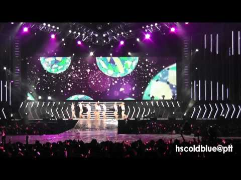 9-1 [Fancam] 110911 SNSD - ITNW @ 2nd Asia Tour Taiwan