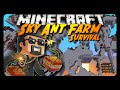 Sky Ant Farm Survival | THE LOST DIAMONDS! | Ep. 6