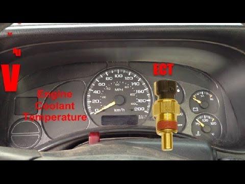 P0118 ECT Engine Coolant Temperature Sensor De Temperatura Avilcar