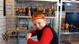 getlinkyoutube.com-wwe toys room tour mattel figure collection 2015 .
