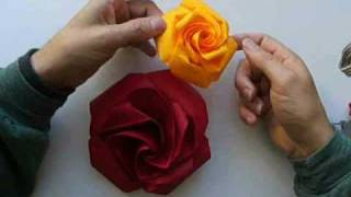 getlinkyoutube.com-origami rose no2