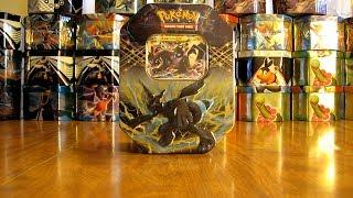 getlinkyoutube.com-30 Pokemon Tin Opening:  Zekrom EX