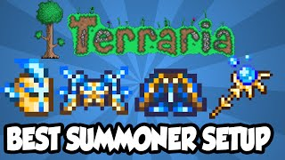 getlinkyoutube.com-Terraria 1.3 - Best Summoner Armor + Weapon Setup - INSANE Summoner DPS Terraria 1.3