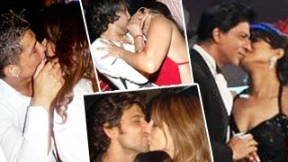 Top 10 Bollywood Kisses Hotlist - Hot kissing scenes of Shahrukh Khan & More !