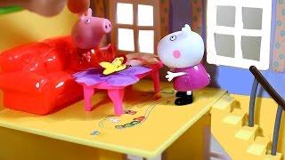 getlinkyoutube.com-Свинка Пеппа. Peppa Pig. Новые  игрушки Пеппы. Мультфильмы для детей .