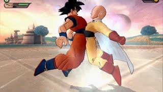 getlinkyoutube.com-Goku fuses with Saitama vs Vaccicolo (Piccolo and Vaccine Man Fusion)  - DBZ Budokai Tenkaichi 3 MOD