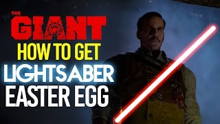 BLACK OPS 3 ZOMBIES: HOW TO GET LIGHTSABER EASTER EGG! (SECRET STAR WARS WEAPON)