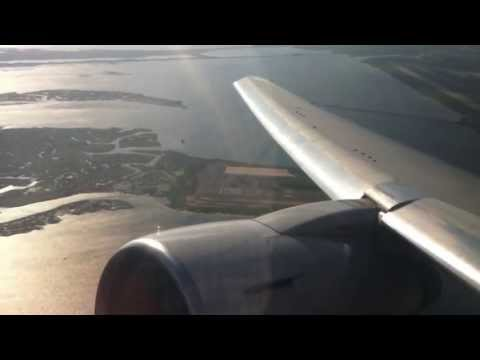 American Airlines AA181 JFK-LAX Takeoff