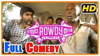 getlinkyoutube.com-Naanum Rowdy Dhaan Movie | Scenes | Full Comedy 2  | Vijay Sethupathi | Nayantara | Parthiban