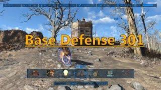 getlinkyoutube.com-How To Fallout 4: Base Defense 301