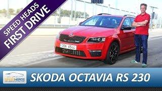 getlinkyoutube.com-Skoda Octavia Combi RS 230 Test - Fahrbericht - Review (German)