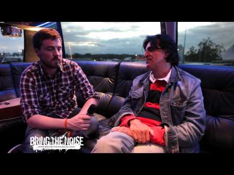 Jaz Coleman of Killing Joke Interviewed by Bring The Noise UK at Sonisphere Festival UK 2011