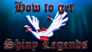 getlinkyoutube.com-Pokemon Oras: How to get SHINY LEGENDARIES!!!!!