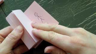 getlinkyoutube.com-How to make a Flip Book Animation
