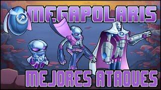 getlinkyoutube.com-Monster Legends Review - Megapolaris - Mejores Ataques - Lv 1-100