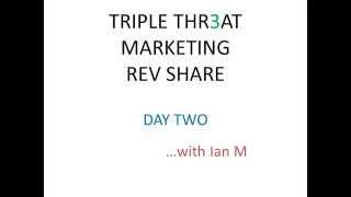 getlinkyoutube.com-Triple Threat Rev Share Day 2 Strategy Review Proof 2015 Ian Michaels