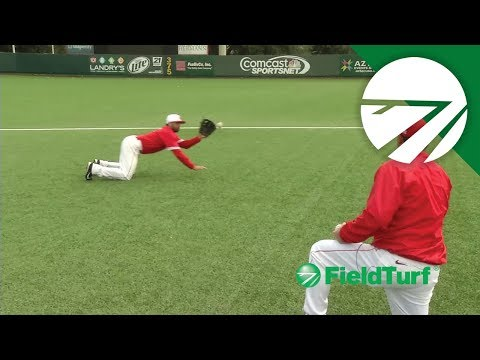 Diving Catch Drill - Baseball Training with Todd Whitting on FT Academy