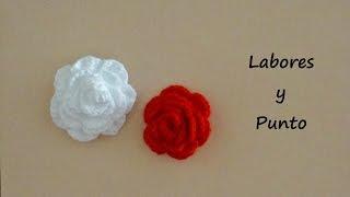 getlinkyoutube.com-Aprende a preparar una rosa a ganchillo