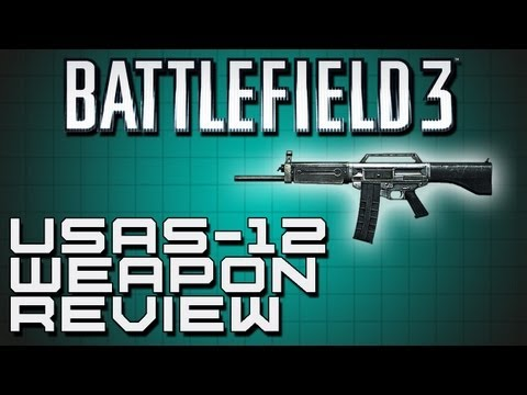 Battlefield 3 Weapon Review - USAS-12