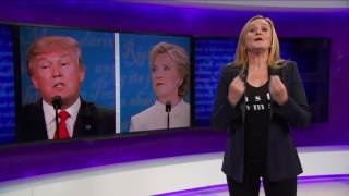 getlinkyoutube.com-Debate 3: The Good, The Bad, The Nasty (Act 1, Part 1) | Full Frontal with Samantha Bee | TBS