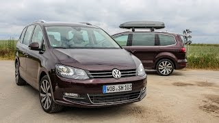 getlinkyoutube.com-2015 VW Sharan Test Fahrbericht VLOG Vorstellung