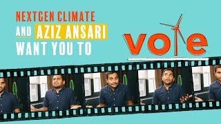 getlinkyoutube.com-Aziz Ansari Wants You to Vote