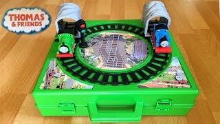 getlinkyoutube.com-Rare Thomas and Friends Toy Trains Play Set with Motorized Percy