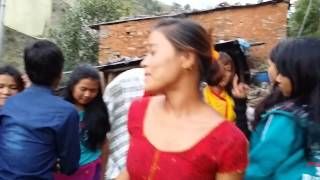 getlinkyoutube.com-Tamang Selo Dance 2015 Potakhola Dovan