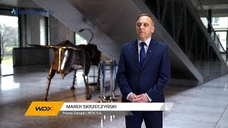 WDX S.A., Marek Skrzeczyński - Prezes Zarządu, #33 PREZENTACJE WYNIKÓW