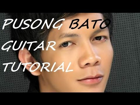 How to Play PUSONG BATO - JOVIT BALDIVINO (GUITAR tutorial) chords and strumming
