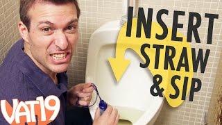 getlinkyoutube.com-Man Drinks Own Urine with LifeStraw