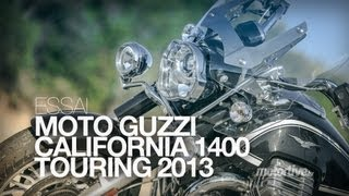 getlinkyoutube.com-TEST | MOTO GUZZI California 1400 Touring 2013. L'Amérique sans