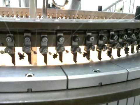 maquina circular de tejido de punto- telas el  futuro