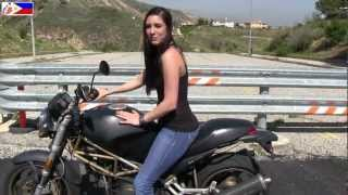 getlinkyoutube.com-The CUTEST Female Motorcycle Riding Instructor in the world - Outtakes :-)